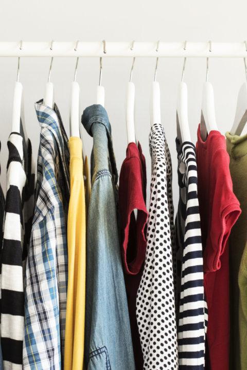W sklepie z ubraniami / A1