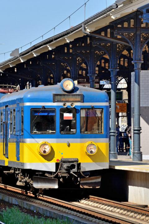 Podróż pociągiem / B1